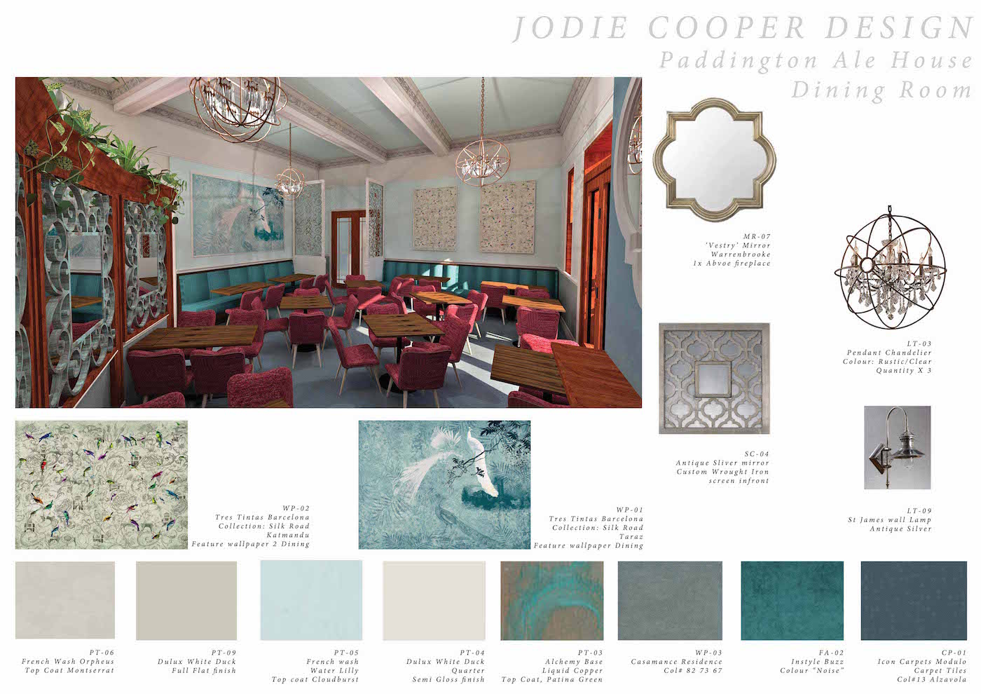 Jodie Cooper Design PAH DINING ROOM